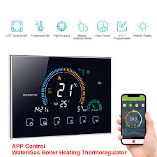 <b>WiFi Smart Thermostat</b> Temperature Controller for Water/Electric ...