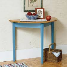 half round table half round entry hall table table