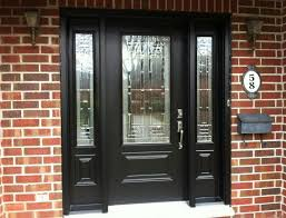 beautiful glass insert entry doors with sidelights