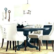 dining tables farmhouse round dining table pedestal kitchen room best white
