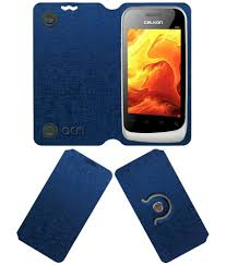 Celkon A85 Flip Cover by ACM - Blue ...