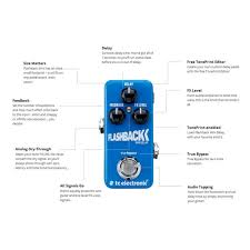 tc electronic flashback mini delay pedal at gear4music com tc electronic flashback mini delay loading zoom