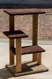 image of small cat tree plans