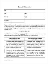 Sample Teacher Evaluation Form 24 Teacher Assessment Forms Free Samples Examples Format Download 18
