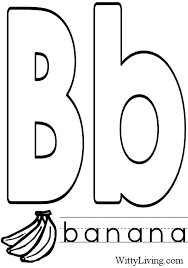 Small Picture Coloring Pages Letter B Kids Crafts for Kids to Make Crafts