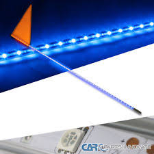 atv lighting for joyner usa sand viper 250 blue 6 led whip dc12v w triangle square flag for utv atv suv offroad 4wd fits joyner usa sand viper 250