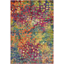 this review is from barcelona multi 6 ft x 9 ft area rug