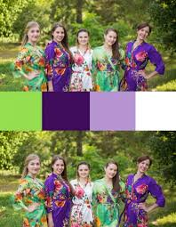 Purple and green wedding colors Wedding Inspiration Product Description Indian Wedding Ideas Blog Indian Wedding Themes Indian Wedding Purple And Green Wedding Colors Bridesmaids Robes Laughing Cherries