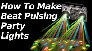 Party Lights That Go With Music How To Make Beat Pulsing Party Lights