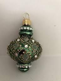 Grünes Orientalisches Ornament