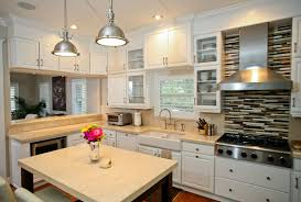 Colonial White Granite Kitchen Selecting Kitchen Countertops Cabinets And Flooring Adp