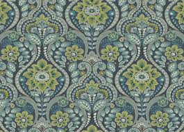 Ethan Allen Wallpaper Designs Night Bloom Vintage Floral Pattern Wallpaper Ethan Allen