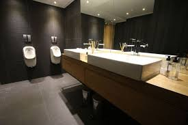 office bathroom decor.  Bathroom Office Bathroom Designs Photo Of Well Design With Good  Commercial Set Intended Decor C