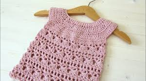 Crochet Baby Dress Pattern Awesome Design Ideas