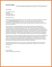 8 Application For Internship Medical Letter Global Strategic Sourcing