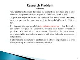 60 Best Problem Statement Examples For Research Proposal | The Proposal