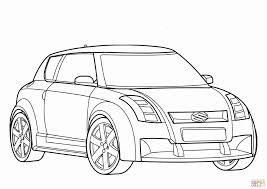 Kleurplaat Auto Geïnspireerd Raceauto Kleurplaten Hard Suzuki Auto