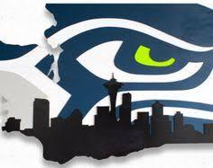 Small Picture Seattle Seahawks 12th Man Mixed Media Wall Art Wooden Wall Art