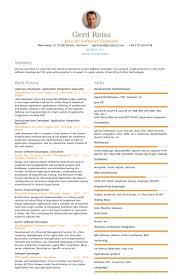 Sample Java Resume Custom Java Software Engineer Resume Template Multiusernet