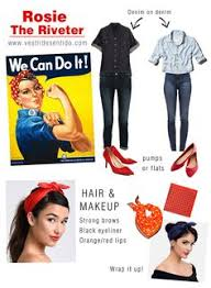 rosie the riveter costume we can do it rosie the riveter costume