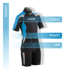Cressi Shorty Wetsuit Size Chart Kids Size Chart How To Measure