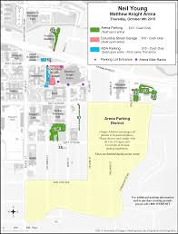 Matthew Knight Concert Seating Chart Concert And Event Parking And Transportation Matthew