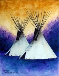 spring storm by allen knowshis native american artist at beartooth gallery fine art