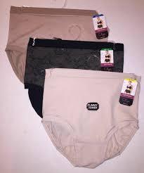 Olga Light Shaping With Tummy Toner 1 Olga Light Shaping Brief Lace Tummy Toner Slimming Shapewear Panties Gs2961p