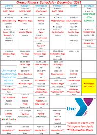 Group Fitness Classes Waynesboro Family Ymca