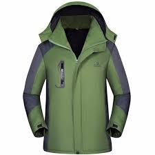 mens jackets winter fleece plus size waterproof jacket coat hiking camping windbreaker outdoor sport jacket l parkas