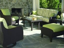 green patio chair cushions