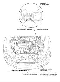 on my honda accord 2004, the cooling fan was on for 6 hours with 2008 honda accord relay diagram at 2009 Honda Accord Fuse Box