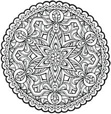 Mandala Coloring Pages Printable Free Coloring Pages Mandala Design