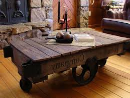 well known wheels coffee tables inside furniture cool handmade coffee table ideas with big wheels