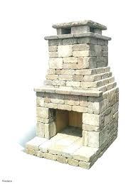 outdoor fireplace kits kit indoor plans free diy stone firepla
