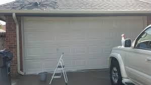 Fix Lovely: How to stain your garage door to look like wood