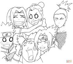 Naruto Coloring Sheet Coloring Sheets Of Naruto And Printable