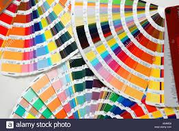 Printing Colour Chart Pantone Chart Stock Photos Pantone Chart Stock Images
