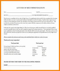 Eagle Scout Letter Of Recommendation Sample From Parents Good Photo
