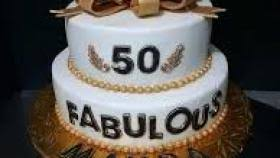 50th Birthday Cake Ideas For Her Funny Chirstmas Decor