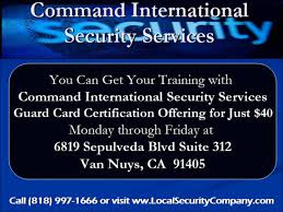security guard card in california mand international security you