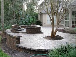 Small Picture Retaining Wall Patio Design Concrete Patio And Retaining Wall