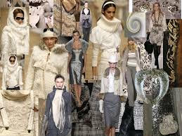 grey monochrome fashion mood board