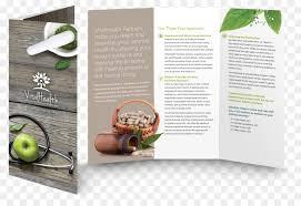 Dietary Supplement Alternative Health Services Brochure Health ...