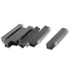 <b>6pcs</b> 34 Pins Dual Row 2.54mm Pitch 90 Degree Box Pin Header ...