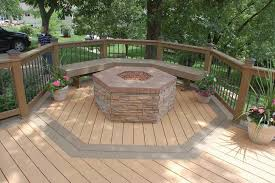 how to build a fire pit on a wood deck lovely fire pits wooden decks fire