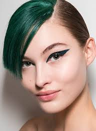 try the stunning cat eye using a darkly pigmented marker liner for thick
