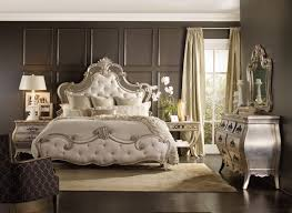 Silver Mirrored Bedroom Furniture Hooker Furniture Sanctuary Upholstered Bed Set 5413 90866 Dream
