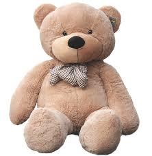 Big Light Brown Teddy Bear Joyfay Giant Teddy Bear In Light Brown 5ft 63 Inches Big Teddy Bear For Birthdays Christmas Easter Valentines And Other Holidays Walmart Com