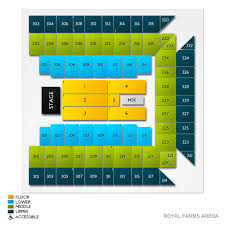 Royal Farms Arena Detailed Seating Chart Meek Mill In Baltimore Tickets Buy At Ticketcity